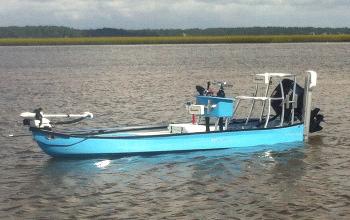 LoTide25-Blue-Aluminum Custom Gheenoe