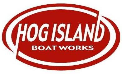 Hog Island Boat Works Logo