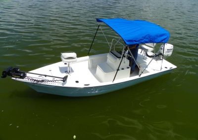 174 Sports Skiff CC Front Angle