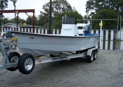225 CC on trailer