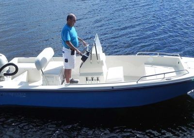 Stumpknocker 1701 Center Console