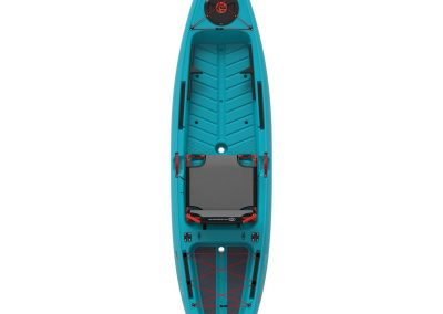 Crescent-Kayaks_Ultra-Lite-Tackle_Aqua_Top-View-up-1