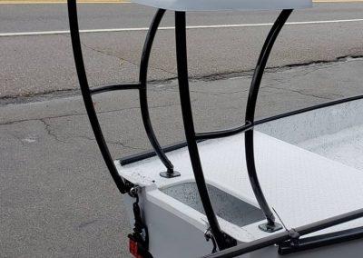 Santee Poling Platform